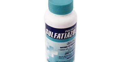 Para que sirve el sulfatiazol